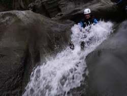 Canyon de l'Eau Rousse - Toboggan