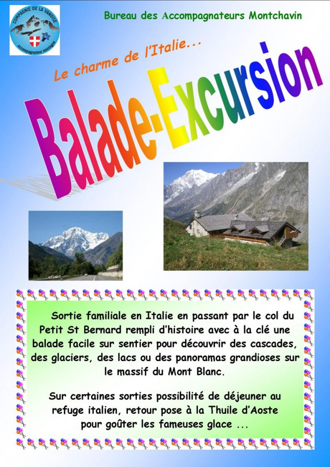Balade - Excursion