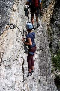 Via ferrata - Peisey