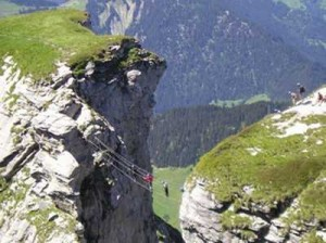 Via ferrata - Roc du Vent