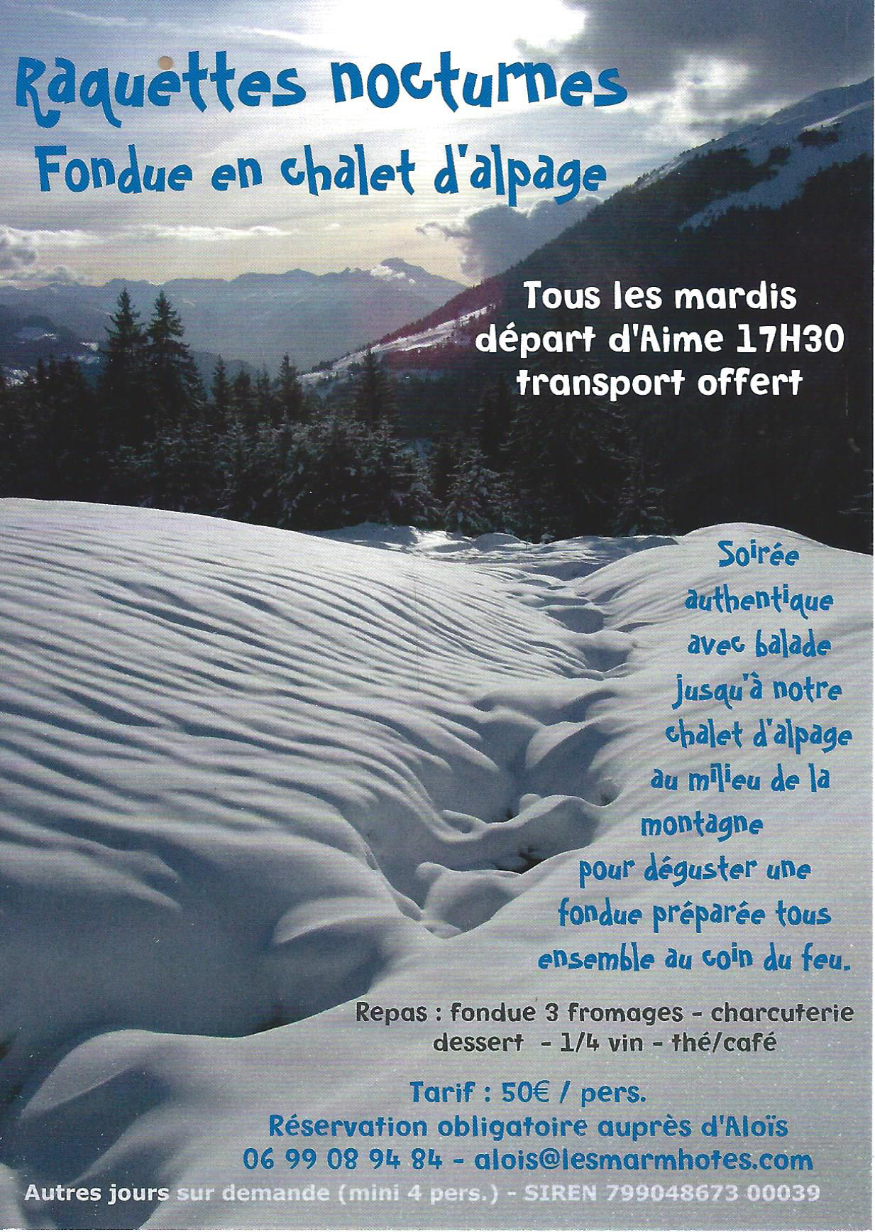 flyer nocturne fondue
